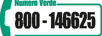 chiama il numero verde 800 14 66 25